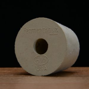 #6.5 DRILLED Rubber Stopper